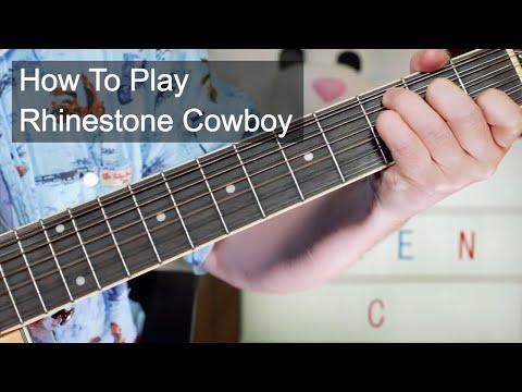 'Rhinestone Cowboy' Glen Campbell Guitar Lesson