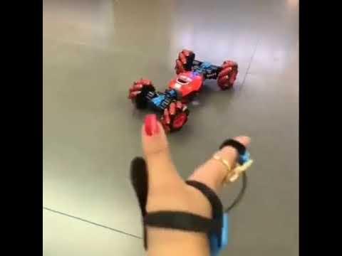 手勢感應變形遙控車男孩手表特技扭變車手控四驅越野汽車兒童玩具