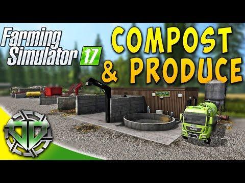 Snettertons Farm: Compost Maker & ProDuce Separator! : Farming Simulator 17 (PC)