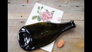 Как расплавить бутылку из стекла/Фьюзинг