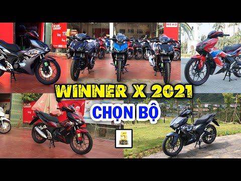 TẤT CẢ các phiên bản Winner X 2021 mới nhất ▶️ AE chọn MÀU SẮC nào? 🔴 TOP 5 ĐAM MÊ