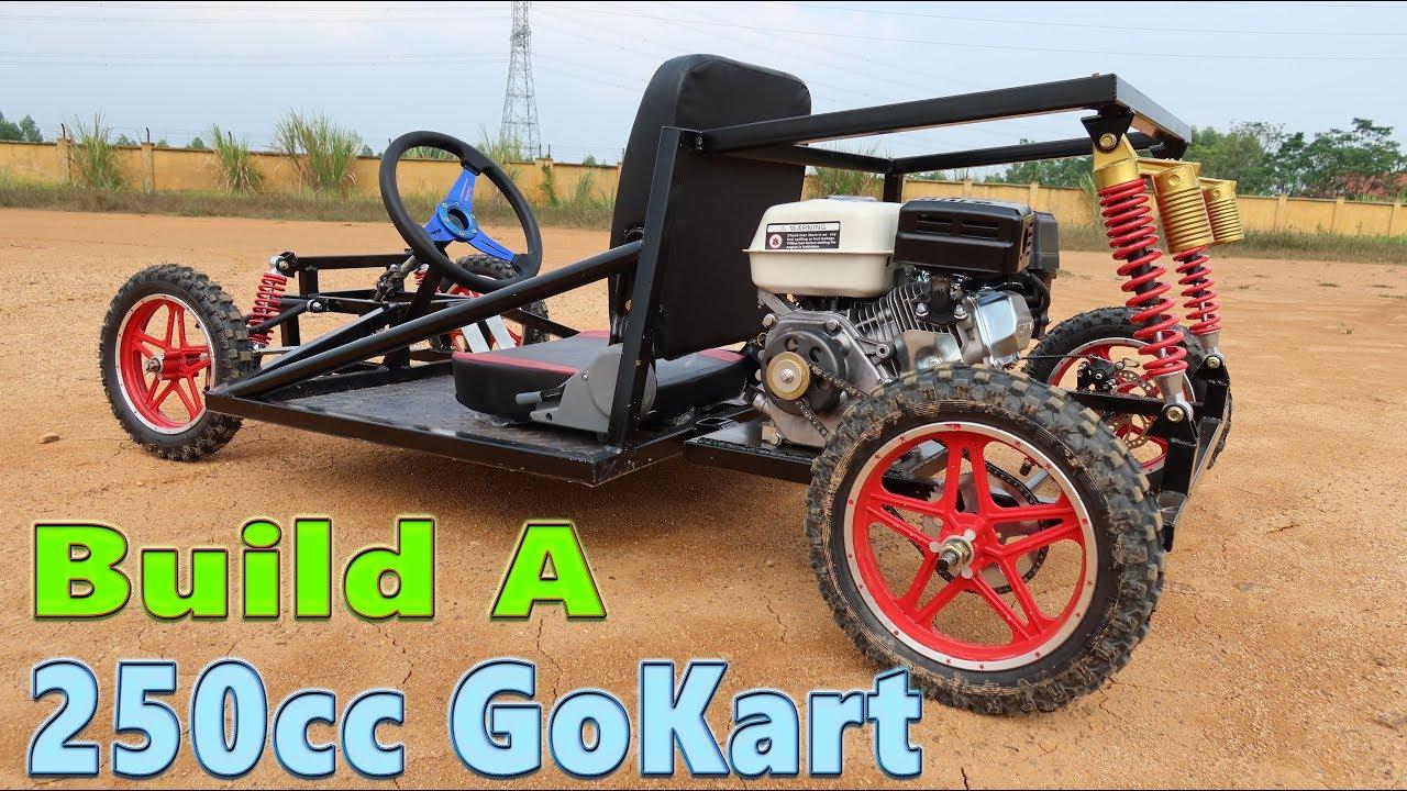 Build a 250cc Go Kart at Home - Tutorial