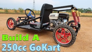 Build a 250cc Go Kart at Home - Tutorial