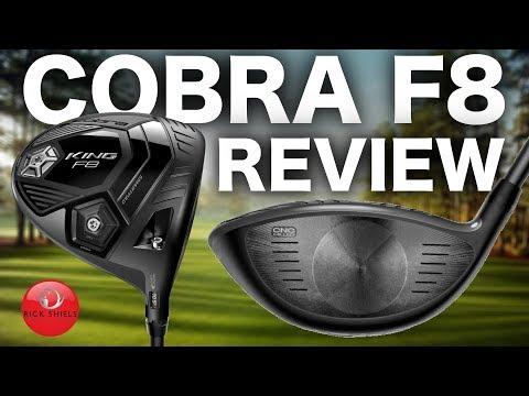 NEW COBRA F8 DRIVER REVIEW - RICK SHIELS