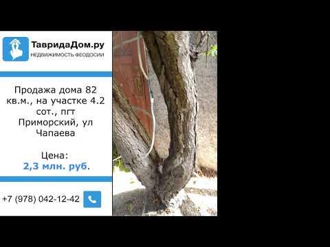 Продажа дома 82 кв.м., на участке 4.2 сот., Приморский пгт, Чапаева ул