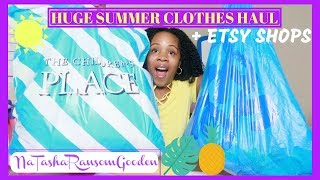 💜HUGE SUMMER CLOTHES HAUL 2018 (GIRLS) | THE CHILDREN