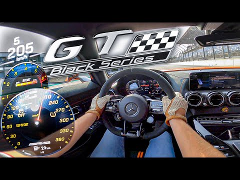 AMG GT Black Series (730hp) | RACE Start & 100-200 km/h acceleration🏁 | by Automann