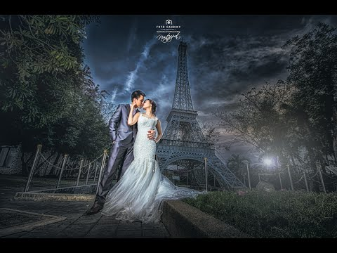 Pre Wedding Photo Editing Lightroom Photoshop Cc Youtube