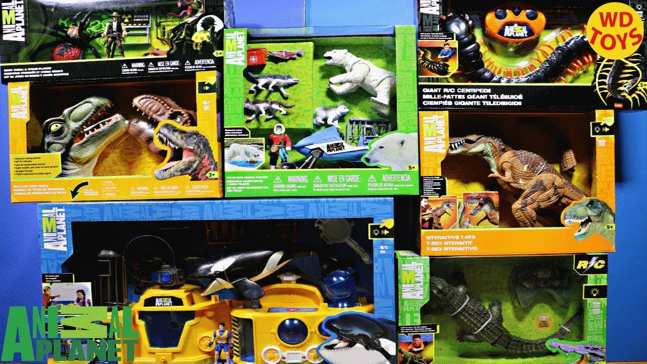 New 8 Animal Planet Toy Sets Huge Shopping Spree Toys R Us Unboxing