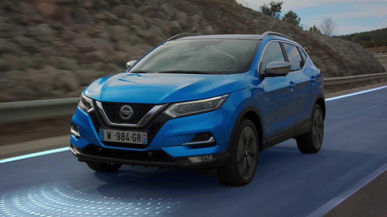 new nissan qashqai with propilot: the crossover that makes your