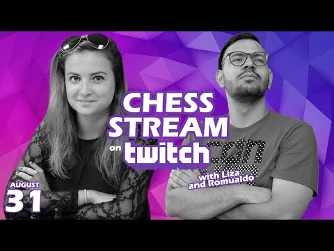 Twitch Chess Stream on Lichess.org w/ Romualdo Vitale (@ChessSociety)