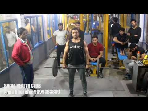 Training Session at Shiva Health Club