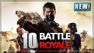 TOP 10 BEST😍 *BATTLE ROYALE* GAMES 2018 LIKE PUBG/FORTNITE FOR PC, PS4, XBOX | NOOBTHEDUDE
