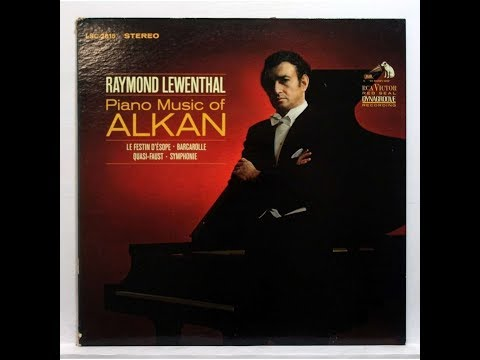 Raymond Lewenthal plays Alkan -- Symphony For Solo Piano