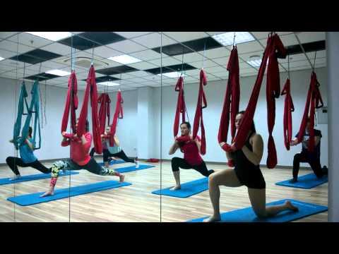 Fly-yoga. Отчет. Часть 1