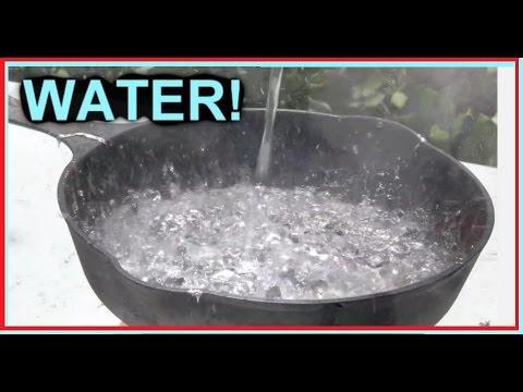 WATER vs Molten LEAD -  As Beautiful as COKE?