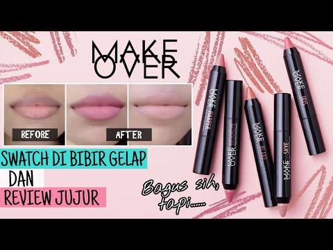 makeover-color-stick-matte-crayon-swatch-di-bibir-gelap-+-review-jujur