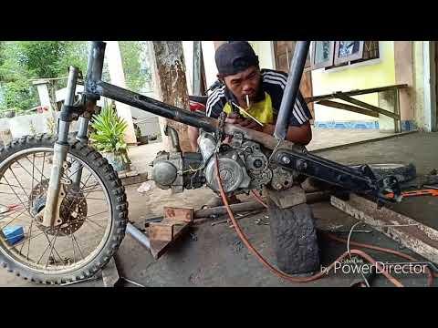 Modifikasi Motor Jadi Sepeda Bmx Youtube