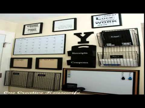 Home Office Ideas On A Budget - YouTube