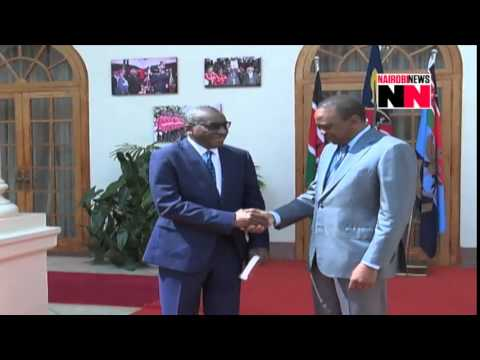 Kenyans react to Uhuru's meeting with ICC boss - VIDEO