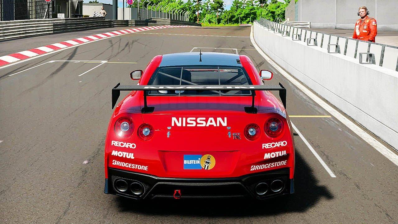 Gran Turismo Sport Nissan Gt R Play Nürburgring Nordschleife 4k 60ᶠᵖˢ