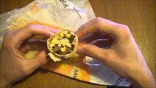 Taco Bell Breakfast - Steak And Egg Burrito - Fast Food Review