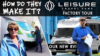 Our Most Epic RV Factory Tour Ever! Leisure Travel Vans thumbnail