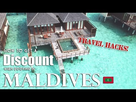 OMG! HOW TO GET A DISCOUNT IN MALDIVES! | Vlog #10