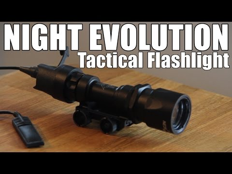AIRSOFT | REVIEW | TBC | NIGHT EVOLUTION Tactical Flashlight NE 04005 ( ENGLISH SUBS )
