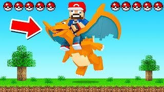 Minecraft BUT with RARE POKEMON
