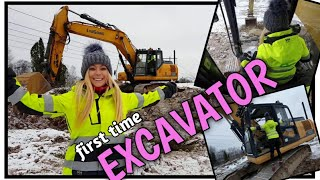 FIRST TIME EXCAVATOR - Angelica Larsson