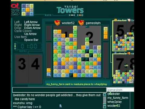 Yahoo! towers game 3 - YouTube