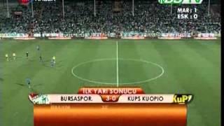 Bursaspor 6 - 0 Kups Kuopio   Teksas.org