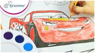 Kolorowanka - Disney - Cars III - Auta - Zestaw Kreatywny | Beniamin