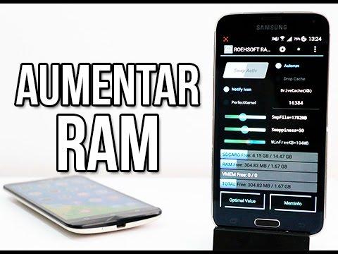 Increible Aumentar Memoria Ram En Su Telefono Android Hasta 6