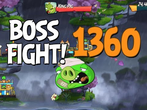 Angry Birds 2 Boss Fight 195! King Pig...