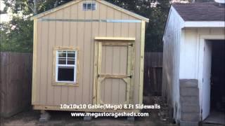 Storage Sheds Spring, Tx (10x10x10)