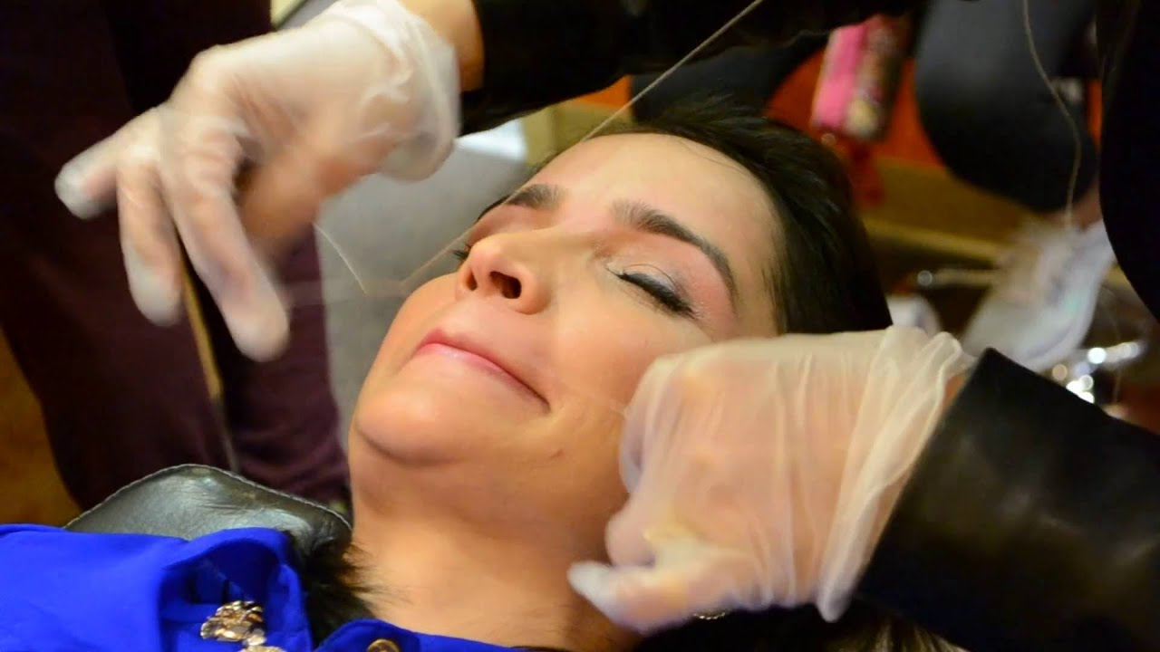 Gbs Brows Threading 2016 2 Youtube