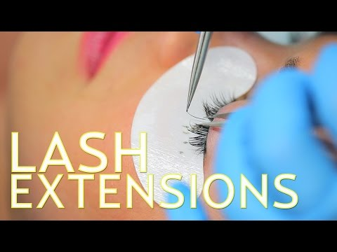 Lash Extensions with GBY Beauty in Santa Monica | The SASS with Sharzad and Susan