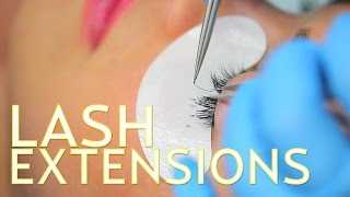 Lash Extensions with GBY Beauty in Santa Monica   The SASS with Sharzad and Susan