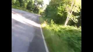 De Pikkala a Kela (conduciendo con una mano por eso no atinaba con el angulo de la camara)