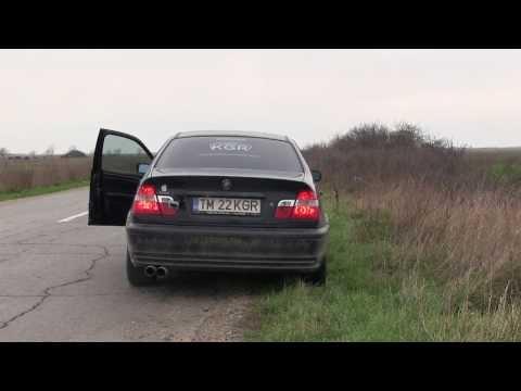 BMW E46 custom exhaust - DIESEL