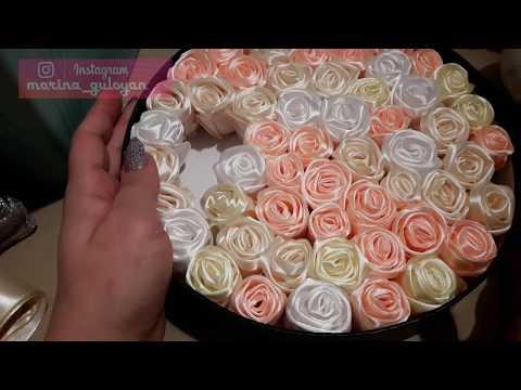Как сделать Бутоны роз /розы для букетов ✔ Marine DIY Guloyan✔