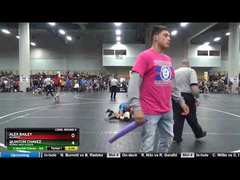High School (9th - 10th Grade) 113 Quinton Chavez Gering High School Vs Alex Bailey Alliance