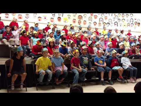2017 Ponderosa School kindergarten end of year concert