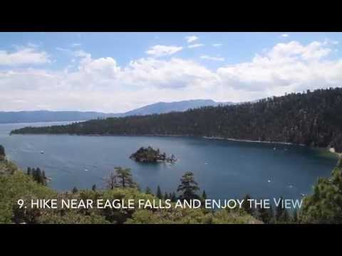 10 Things To Do In Lake Tahoe California!