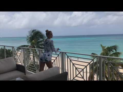 Mia Parres At Caribbean Club, Cayman Islands In Sneak Peek Series