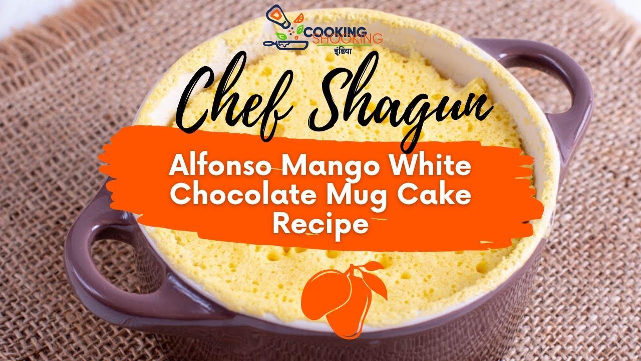 Egg-less Mango Cupcakes |Soft & Moist Mango Mug Cake with ...