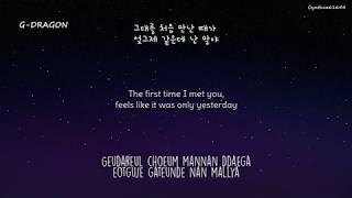 BIG BANG - Forever With You [Hangul + Romanization + Eng Sub]