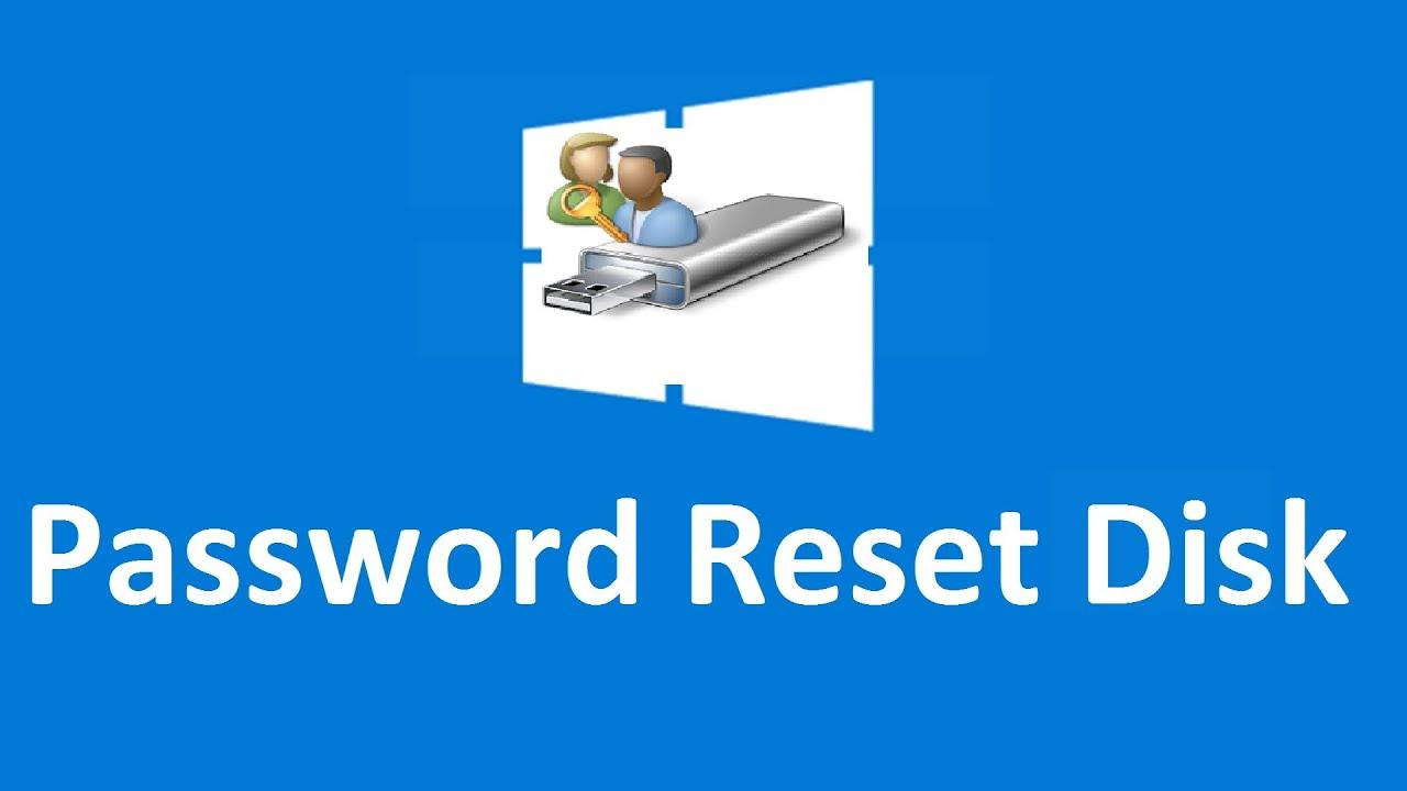 Create windows 10 password reset disk - Howtosolveit - YouTube